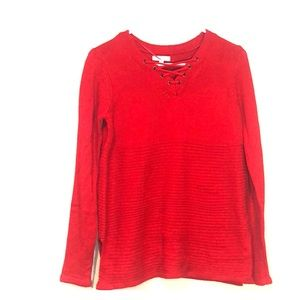 Women's Crost and Barrow red sweater